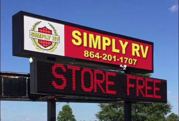 Simply RV sign (Courtesy: Simply RV)
