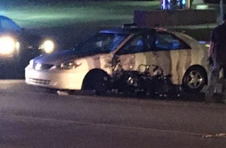 Scene of the crash (FOX Carolina/ Sep. 9, 2017)