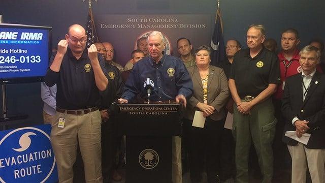 Sunday press briefing. (9/10/17 FOX Carolina)