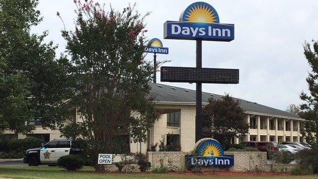Days Inn on Outlet Road. (9/10/17 FOX Carolina)
