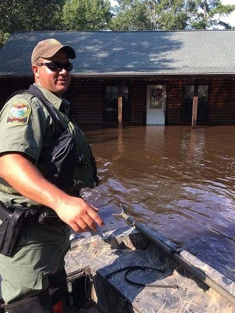 SCDNR officers will conduct rescue missions in Florida. (Source: SCDNR)