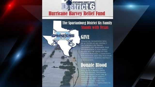 Dorman blood drive flyer (District 6)