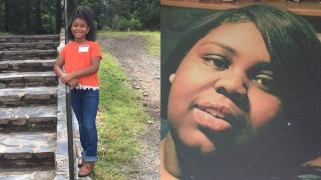 Left to right: LaMya Bradley (Source: WJZY) and Jasmin McGill (Source: Family)