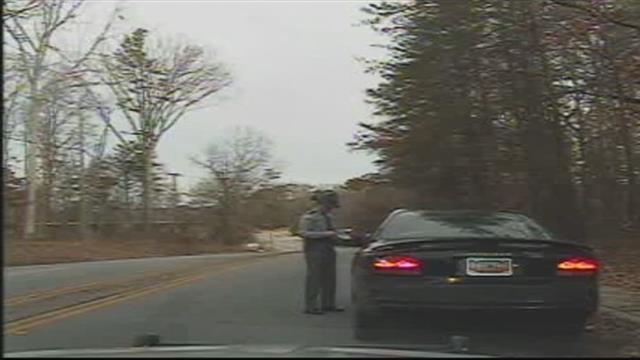 Trooper Winstead on dashcam footage (file/FOX Carolina)