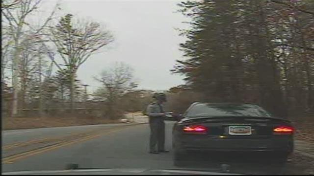 Trooper Winstead on dashcam footage (file/FOX Carolina)