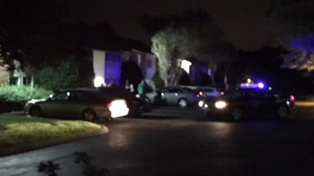 Scene of investigation at Cobalt Springs Apartments (FOX Carolina/ 9/13/17)