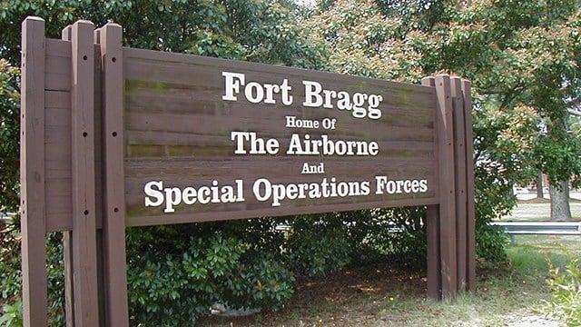 Fort Bragg (Source: Wikimedia)