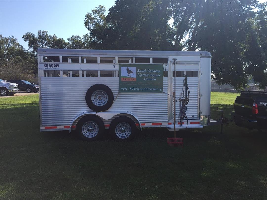 Trailer donation from the Upstate Equine Council. (Source: FOX Carolina).
