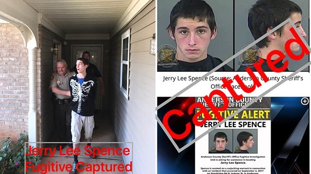 Jerry Lee Spence found in Royston, GA (Source: Anderson County Sheriff's Office Facebook)
