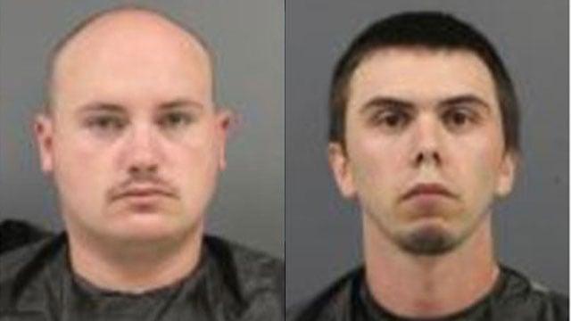 Brandon Mullinax (L) and Alex McAbee (Source: Cherokee Co. Detention Center)