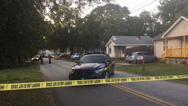 Scene of Greenville Co. stabbing (FOX Carolina/9/16/17)