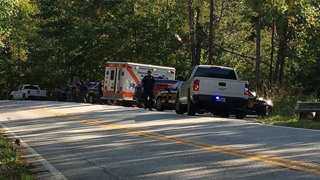 Scene of search area for two missing hikers in Bald Rock. (9/17/17 FOX Carolina)