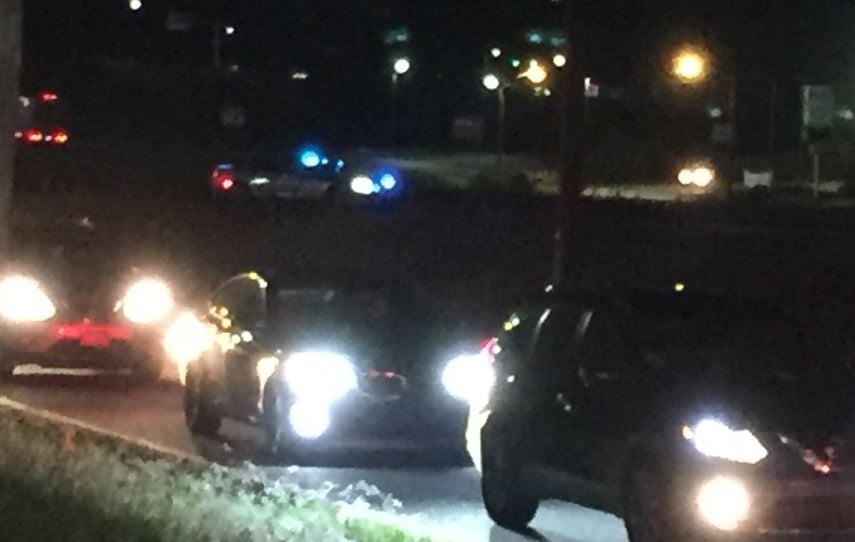 I-85 at Exit 92 (FOX Carolina/ Sep. 18, 2017)