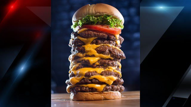Triple Triple Burger (Source: Wayback Burgers)