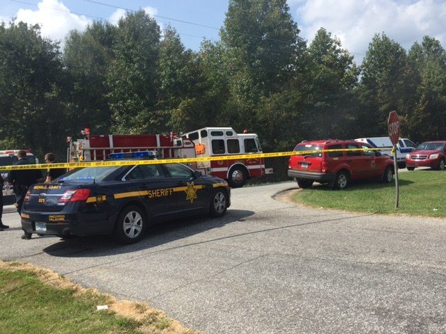 Crews respond to structure fire in Greenville Co. (FOX Carolina).