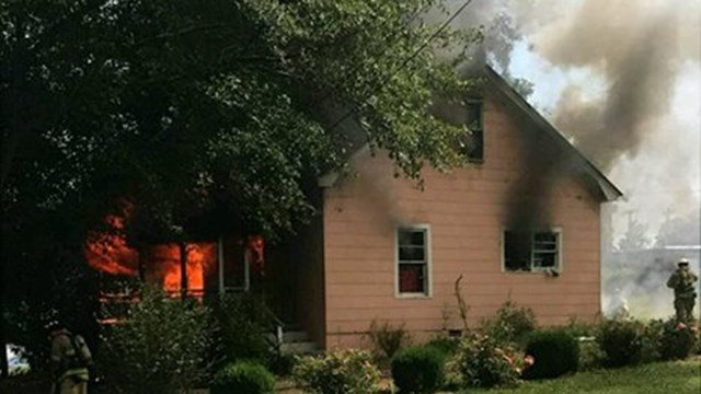 Crews respond to structure fire in Greenville Co. (Source: Parker District FD)