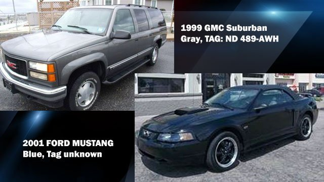 New example photos of the cars the suspects may be driving (Source: HCSO)