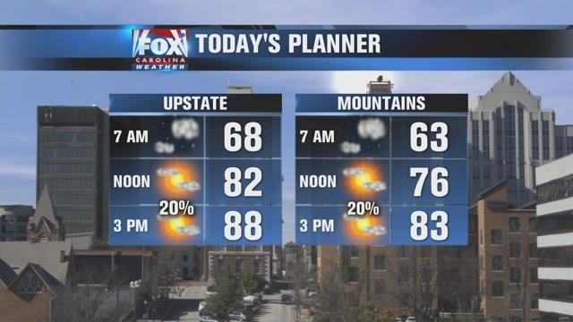 Nicole: Warm, muggy Wednesday with isolated PM showers possible