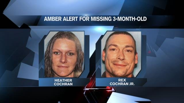 AMBER Alert issued for missing 3-month-old