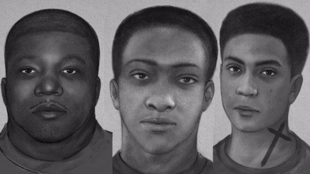 Three suspects in assault case. (Source: Spartanburg PD)