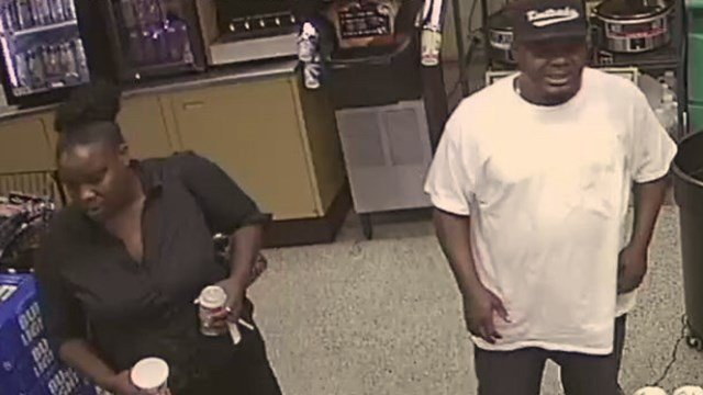 Suspects seen on surveillance footage. (Source: Williamston PD)