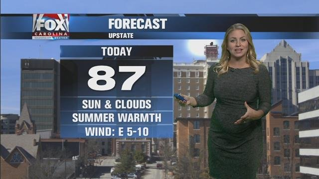 Nicole: Last day of summer will be a warm one