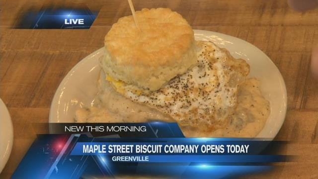 Maple Street Biscuit Company opens in Five Forks
