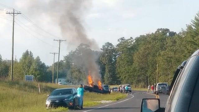 Coroner says 3 dead in Oconee County crash. (Source: iWitness)