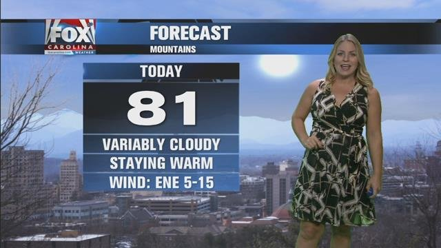 Nicole: Cloudy from Maria but no rain on Monday