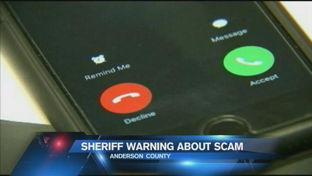 Sheriff warns of phone scam