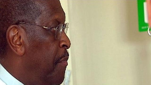 Herman Cain visits the Next Innovation Center in Greenville. (June 29, 2011/FOX Carolina)