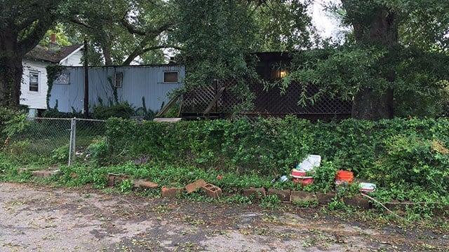 Scene of crime at residence on Walker Street. (9/26/17 FOX Carolina)