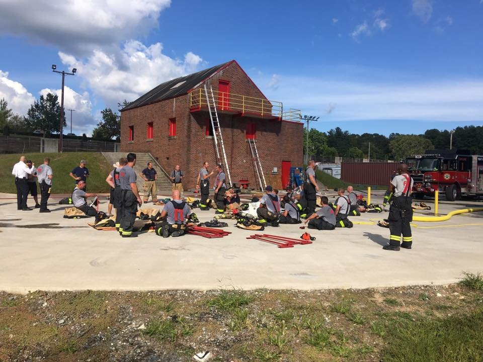 Live fire training (Source: City of Hendersonville)