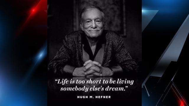 Hugh M. Hefner (Source: Official Twitter account of Playboy)