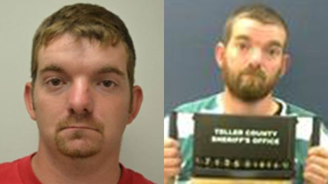 Daniel Nations in 2011 (left) and in 2017 (Source: SLED/Teller Co. Detention)