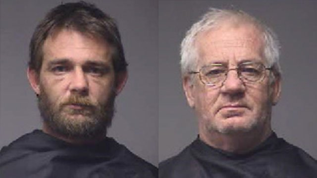Jason Galloway (L) and Rickie Galloway (Source: Pickens Co. Sheriff's Office)