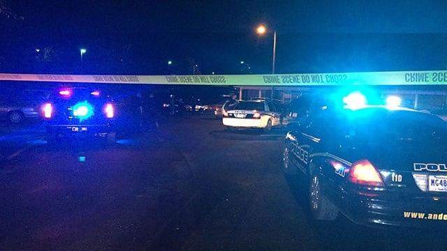 Scene of reported shooting in Anderson. (9/30/17 FOX Carolina)