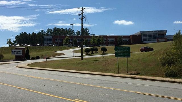 Powdersville High School (Oct. 2, 2017/FOX Carolina)
