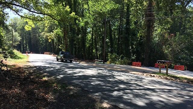 Community asked to avoid Richland Creek. (10/2/17 FOX Carolina)