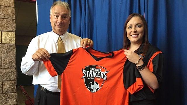 Upstate Strikers. (10/3/17 FOX Carolina)