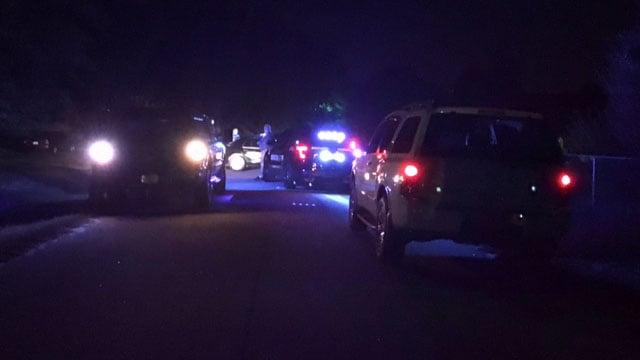 Scene of pipe bomb explosion in Anderson. (10/3/17 FOX Carolina)