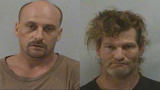 Michael Allen Spencer and Daniel McCoy Bradley (Source: McDowell County Emergency Management)