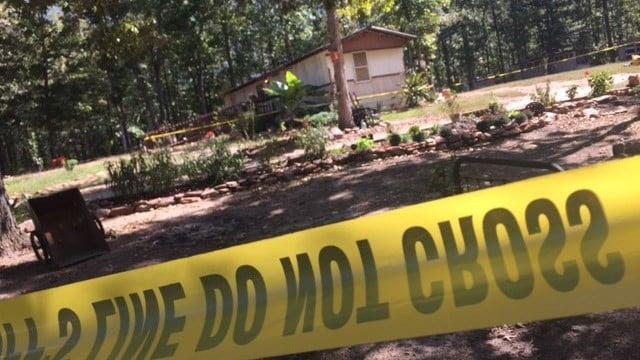 Residence taped off on Beaver Run Extension (Oct. 5, 2017/FOX Carolina)