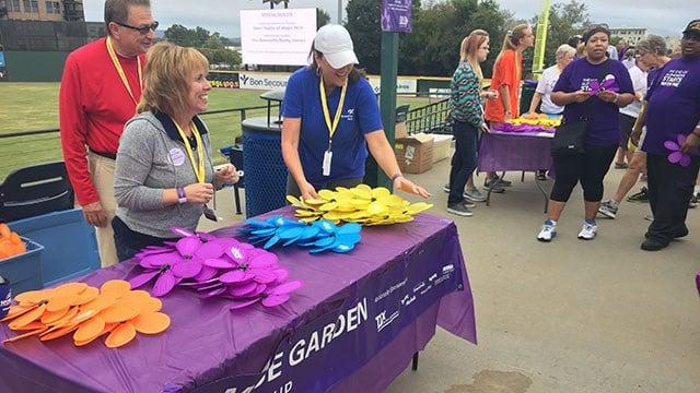 2017 Walk to End Alzheimer's. (10/7/17 FOX Carolina)