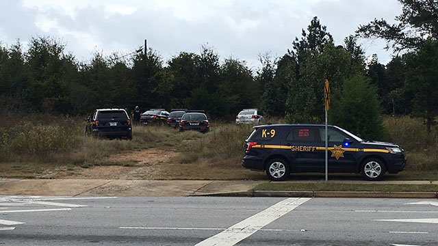 Police presence on Fairview Road. (10/9/17 FOX Carolina)