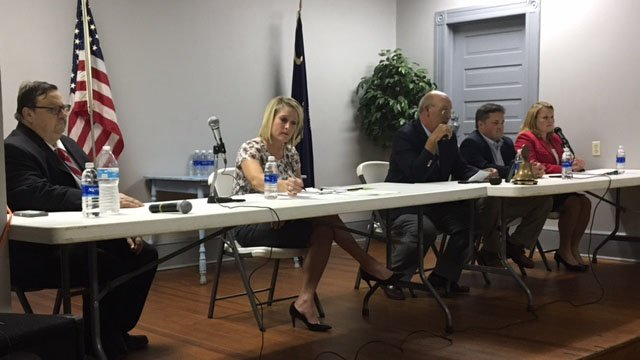 Open seat debate in Piedmont. (10/9/17 FOX Carolina)