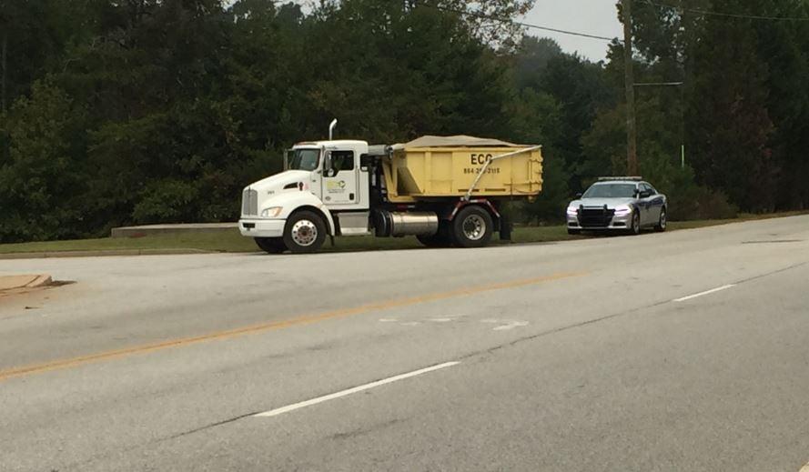 Scene of the incident (FOX Carolina/ Oct. 11, 2017)