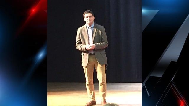 Robert Lee IV speaks on BLM, legacy (FOX Carolina/ 10/11/17)