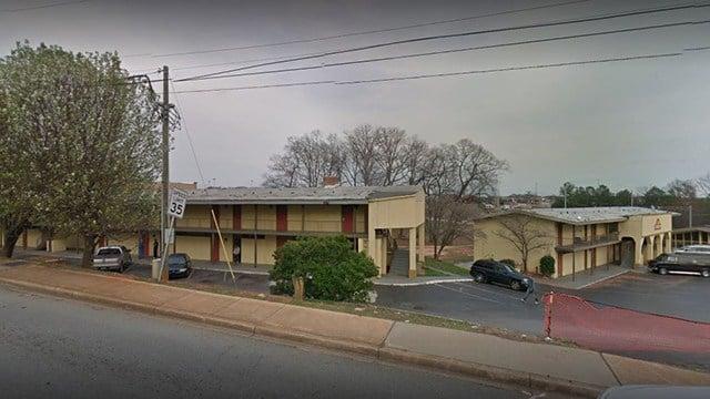 Economy Inn on Augusta Road was condemned Wednesday (FOX Carolina)