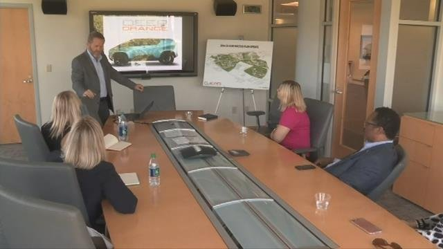 Boeing executives soar into Upstate to promote advanced manufacturing. (FOX Carolina/ October 12, 2017)